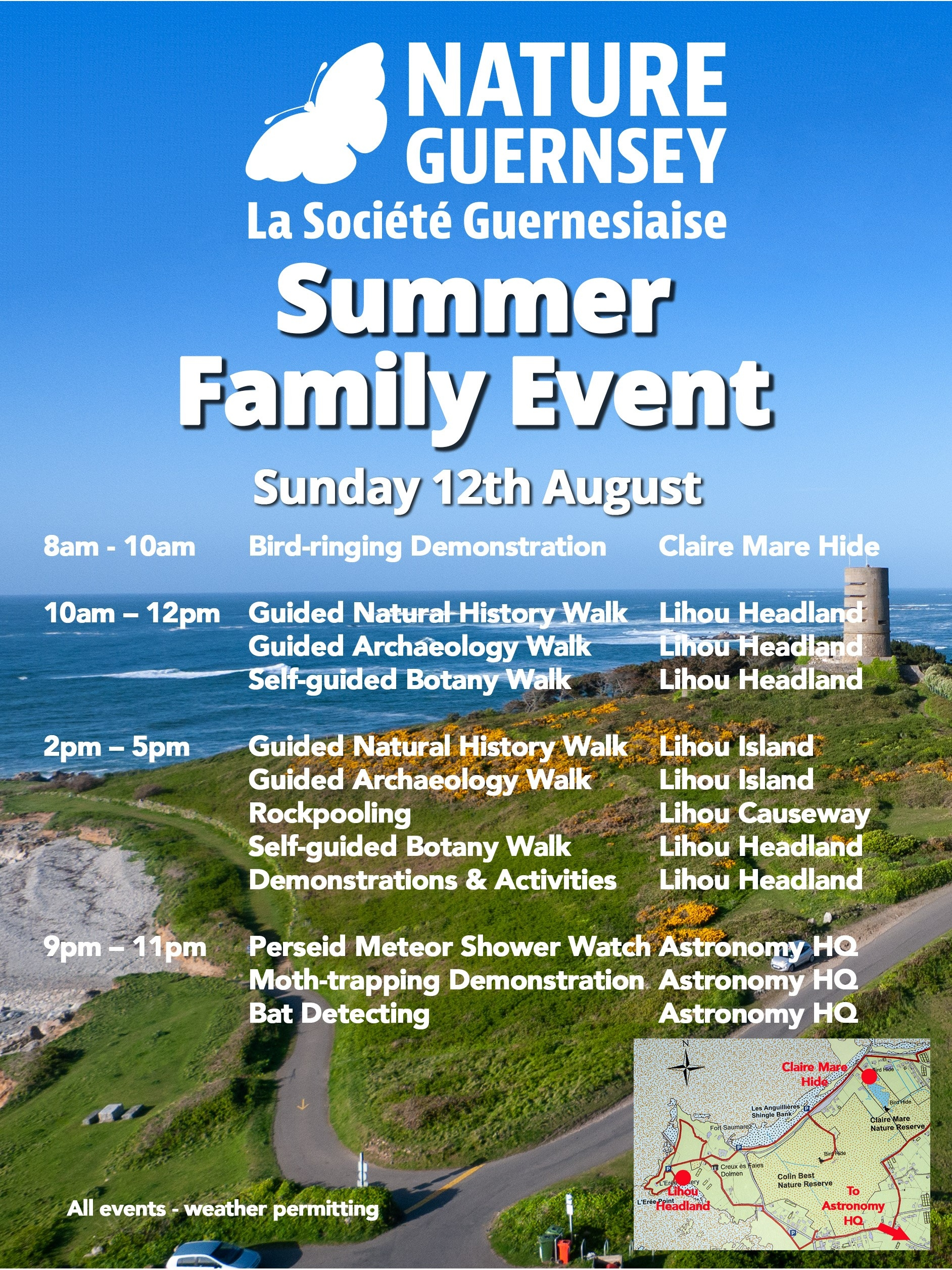Nature Guernsey Family Event